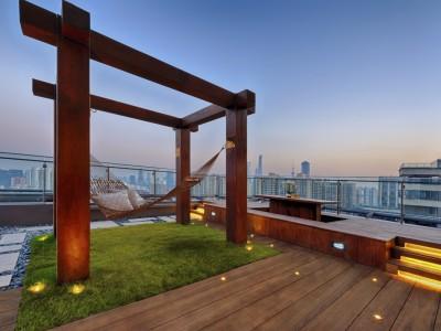 Traum von Dachterrasse
