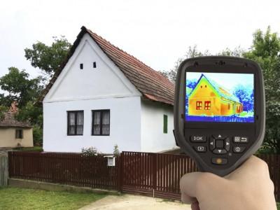 Waermebild Haus