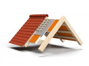 Dachdämmung Aufbau