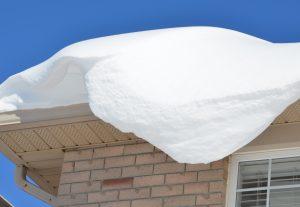 Schneelast auf Dach