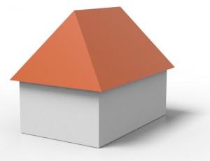Bevorzugt Dachform: Walmdach - Aufbau & Kosten » 11880-Dachdecker.com KV26