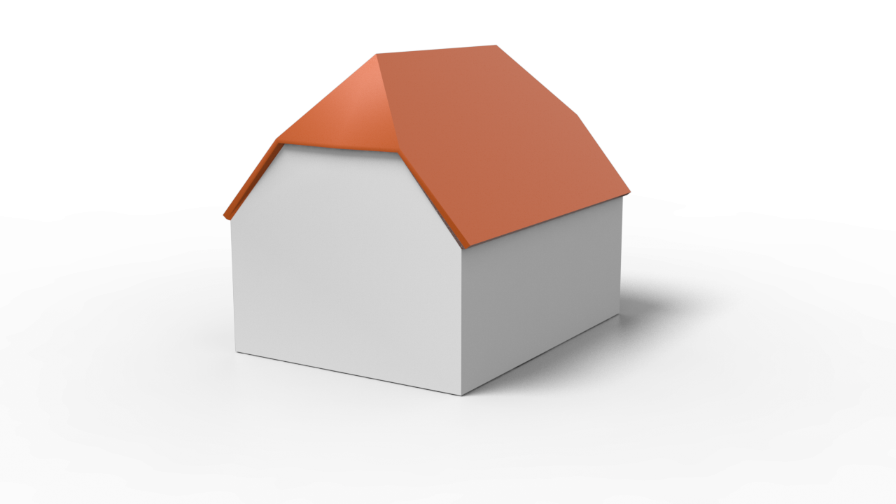 Hervorragend Dachform: Krüppelwalmdach - Aufbau & Kosten » 11880-Dachdecker.com BN48