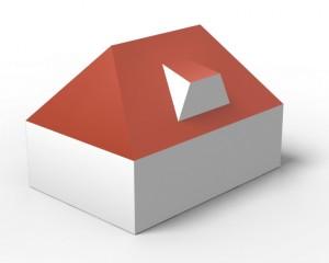 Trapezgaube 3D