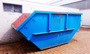 Teerpappe Container Entsorgung